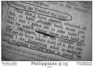 Philippians 3 13